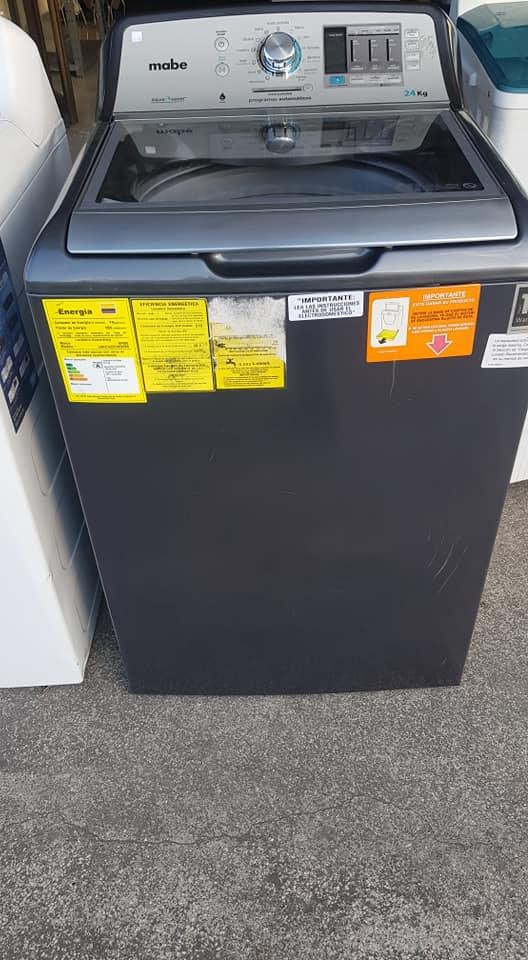 Lavadora MABE 24kg Automática.