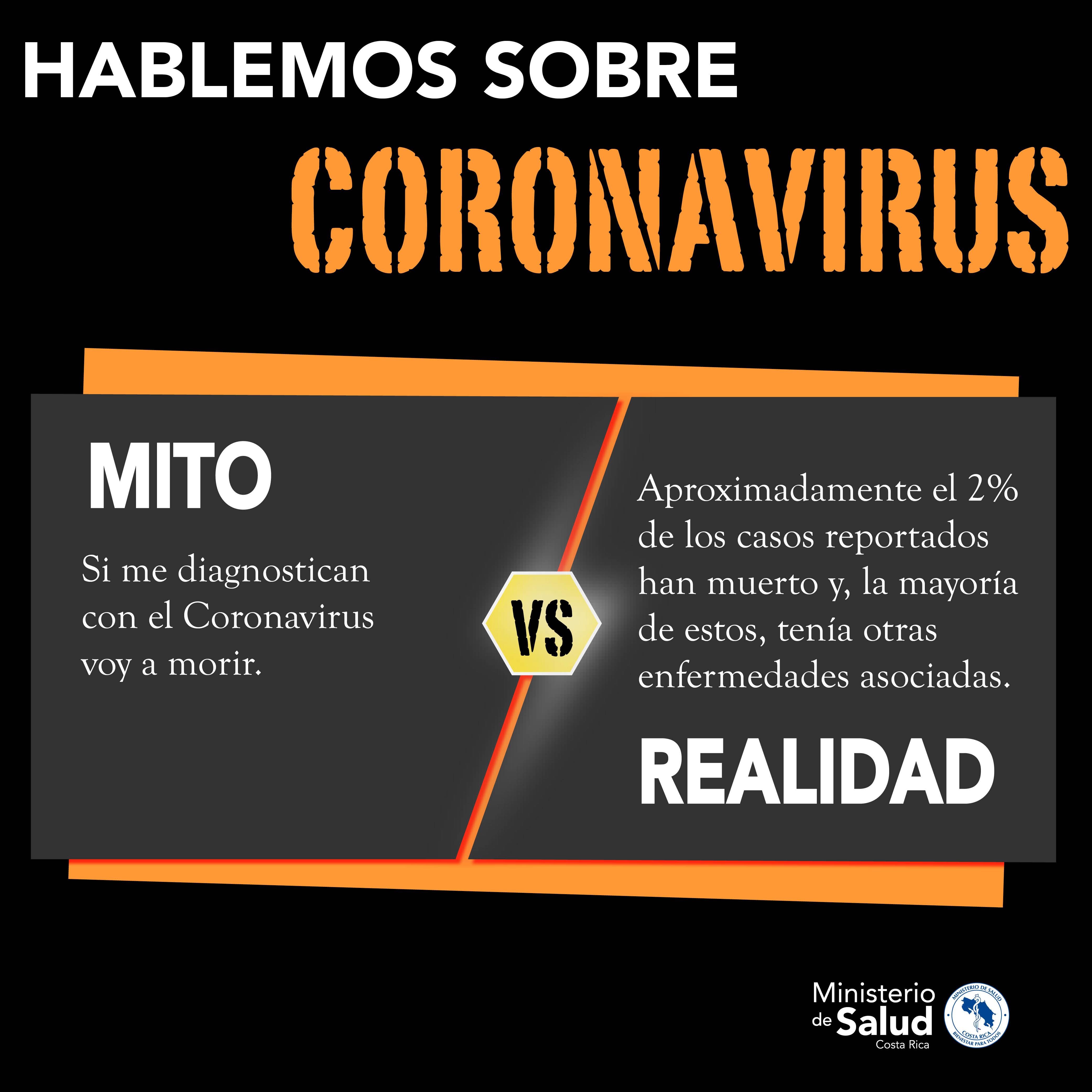 Mitos y Verdades sobre el Coronavirus