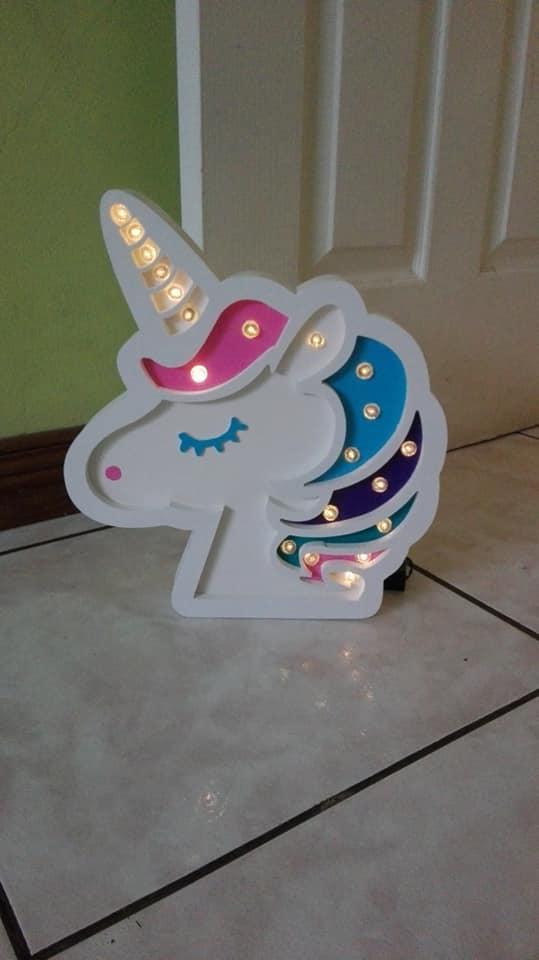 Lámpara de unicornio a la venta