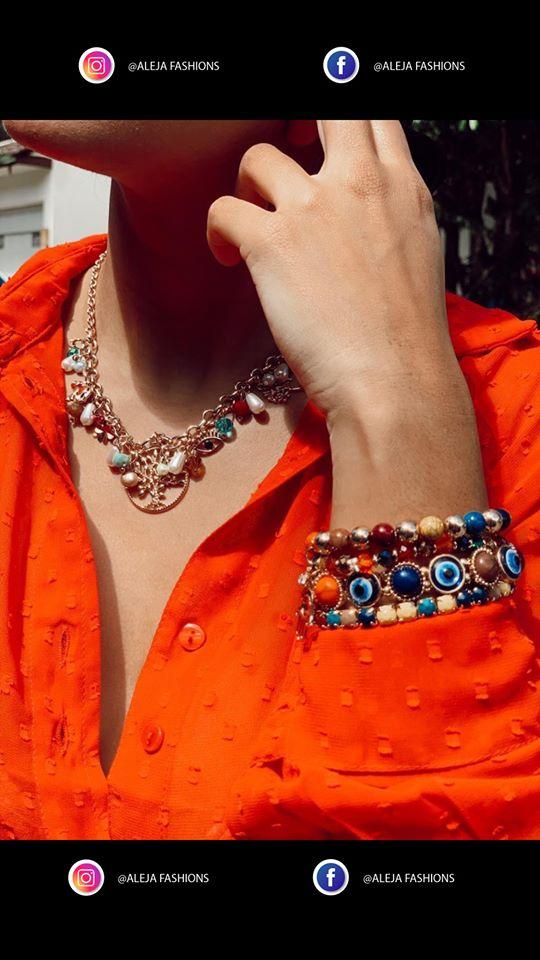 Nuevos diseños   de collares y pulseras