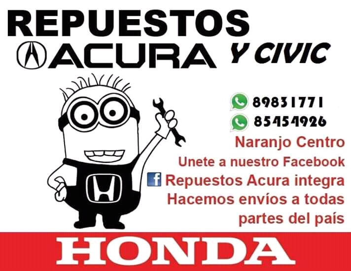 Repuestos acura integra