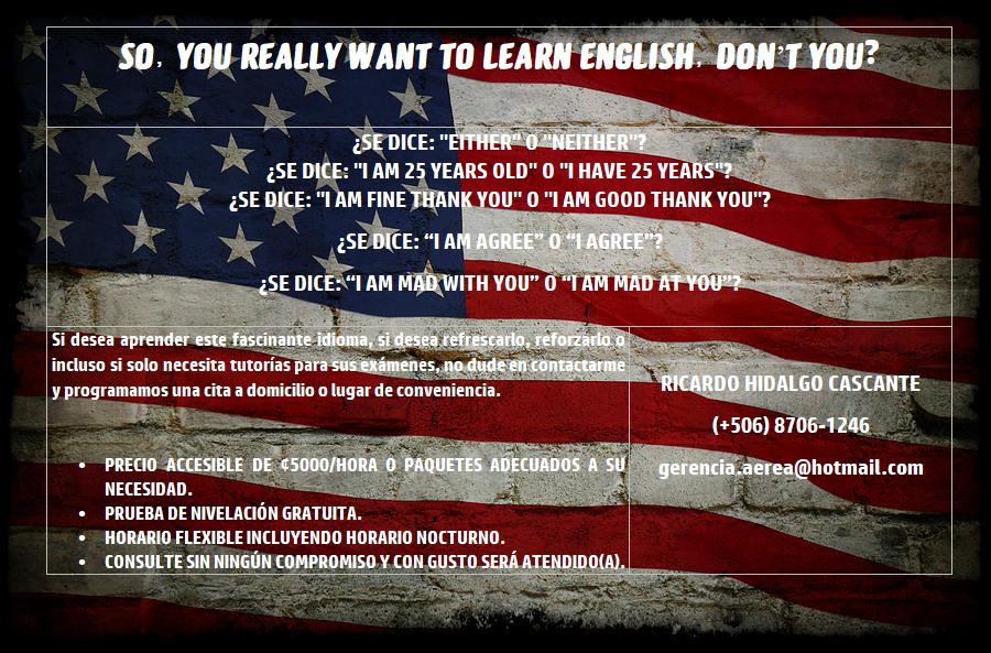 Clases & Tutorías de Inglés