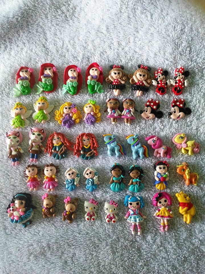 Apliques princesas de Disney