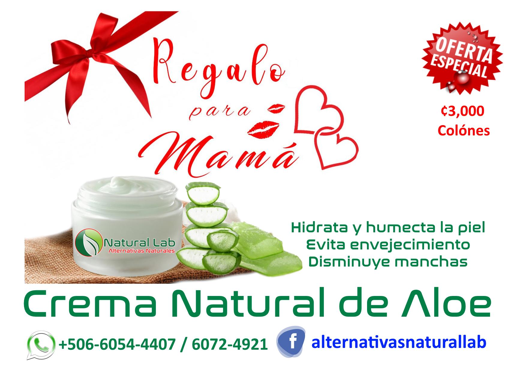 Crema Natural de Sabila