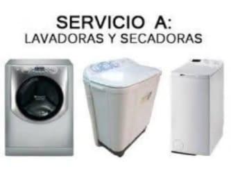 REPARACION ESPECIAL EN LAVADORAS Y SECADORAS PARA ROPA DE GAS Y ELECTRICAS AL 6373-00-53