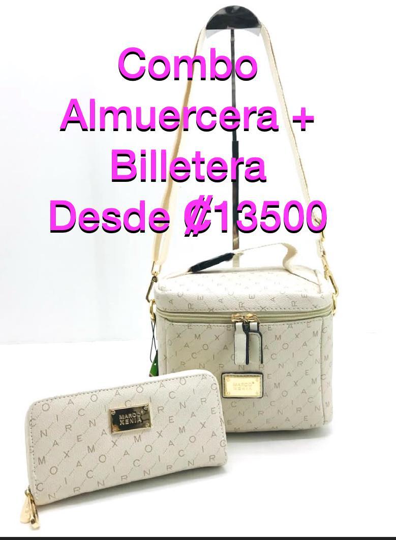 Se vende Hermoso Combo de Almuercera + Billetera Para Dama