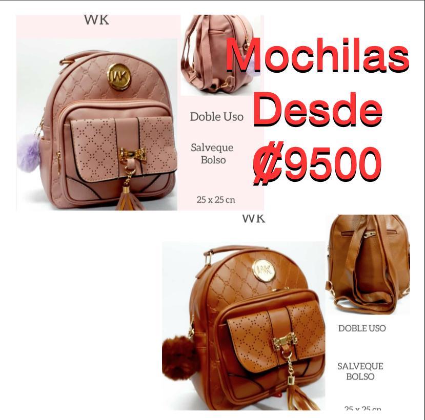 Se Venden Hermosas Mochilas