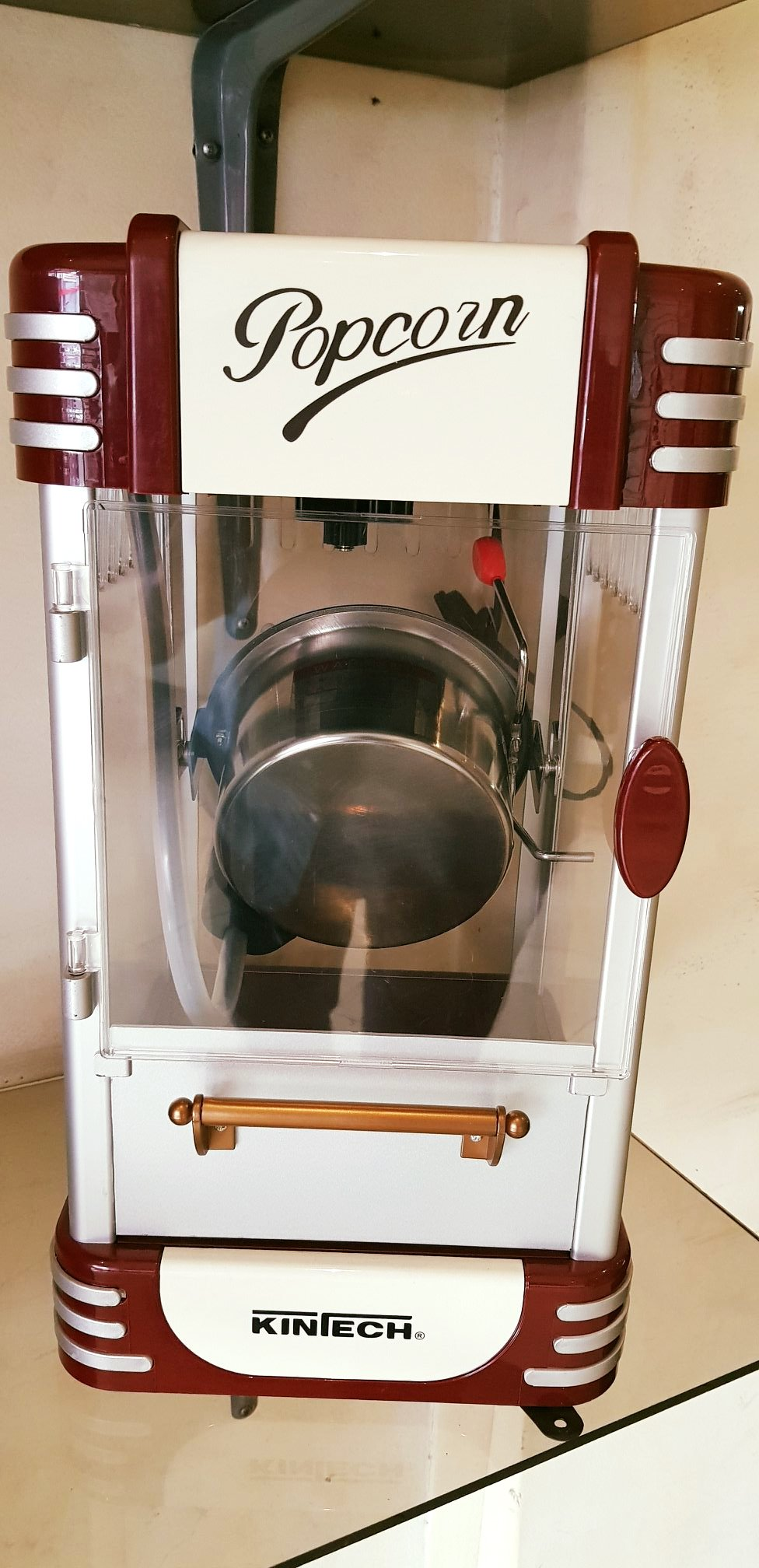 Maquina de Palomitas Pequeña o Grande Kintech