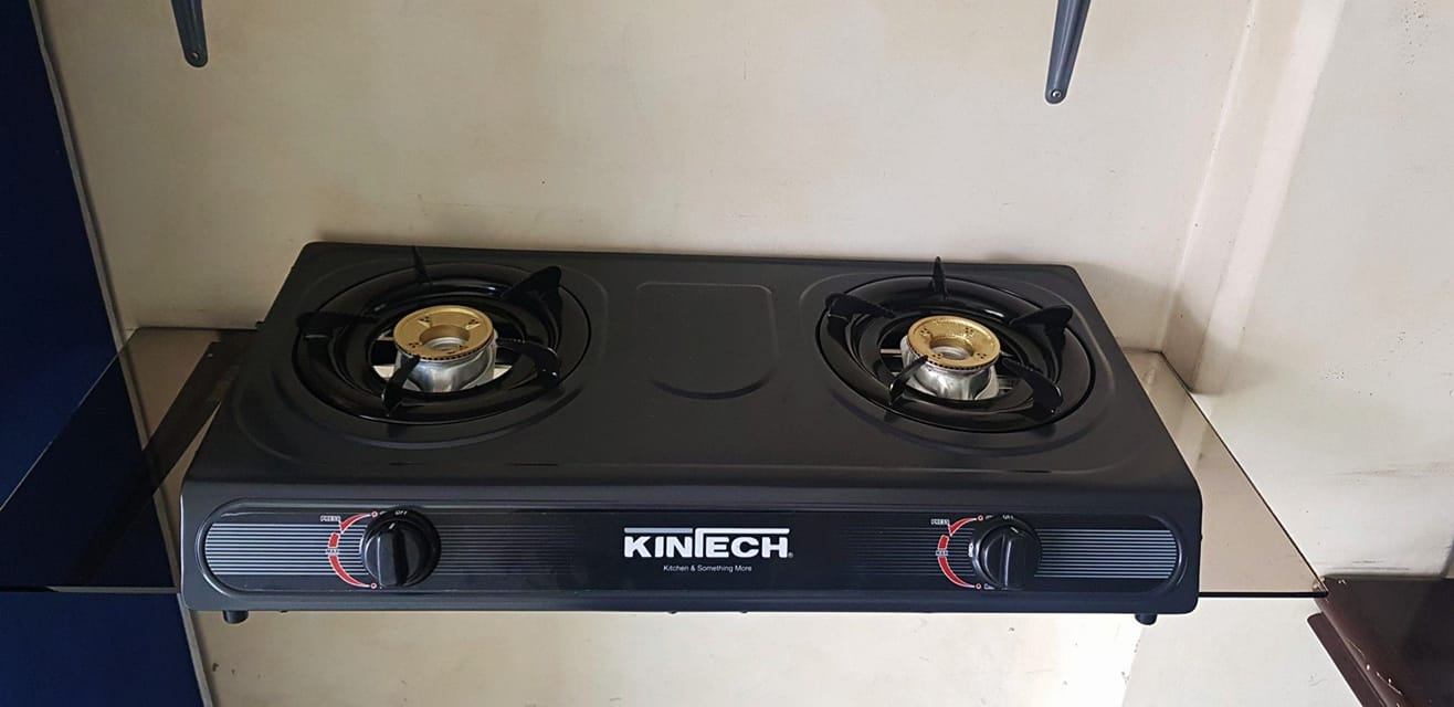 Plantilla de Gas Kintech 2 Quemadores