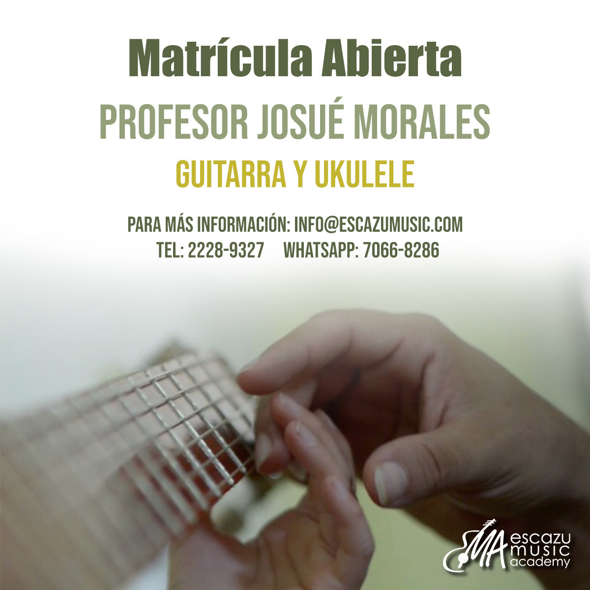 Escazú Music Academy Clases de Guitarra y Ukelele