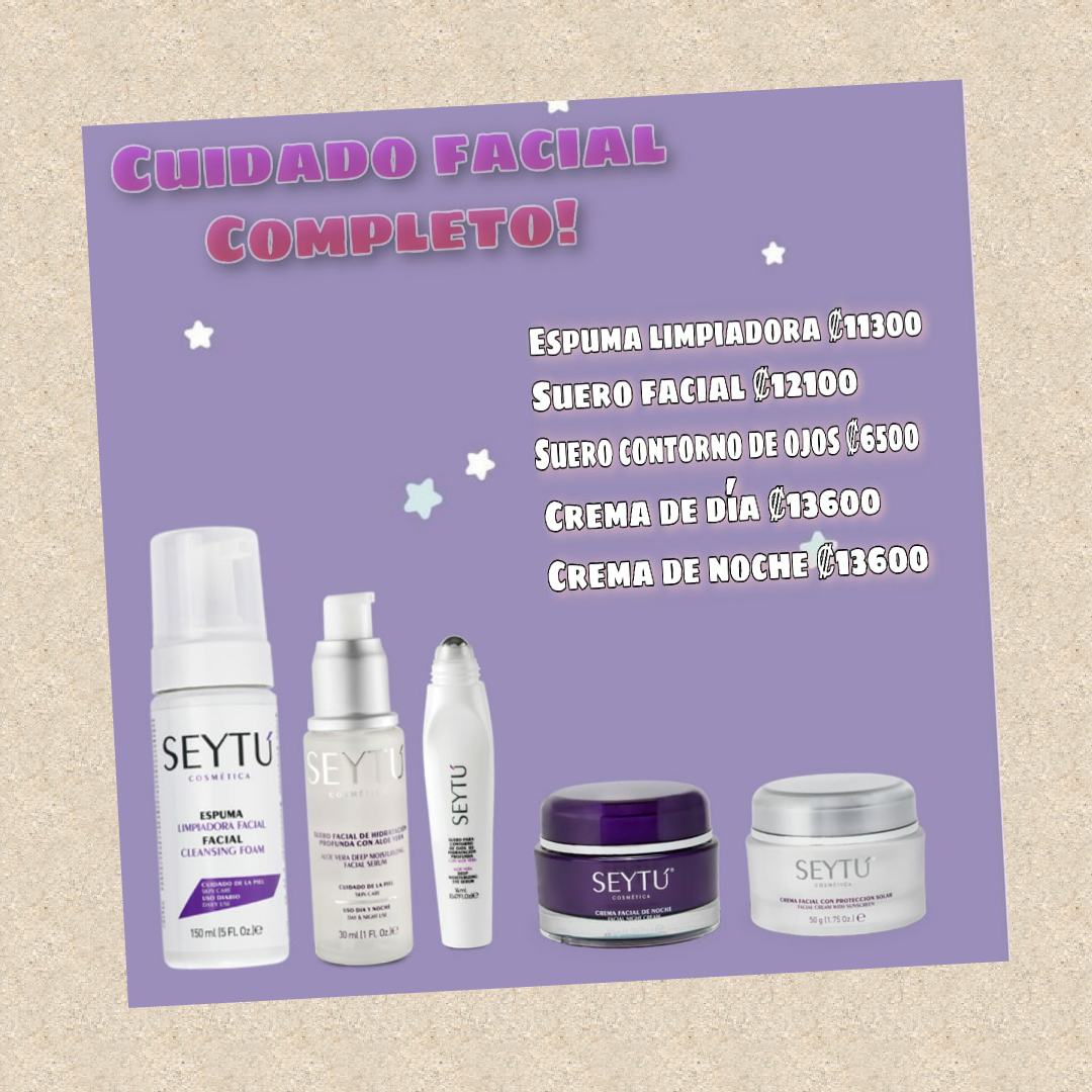 Cuidado facial completo Seytu