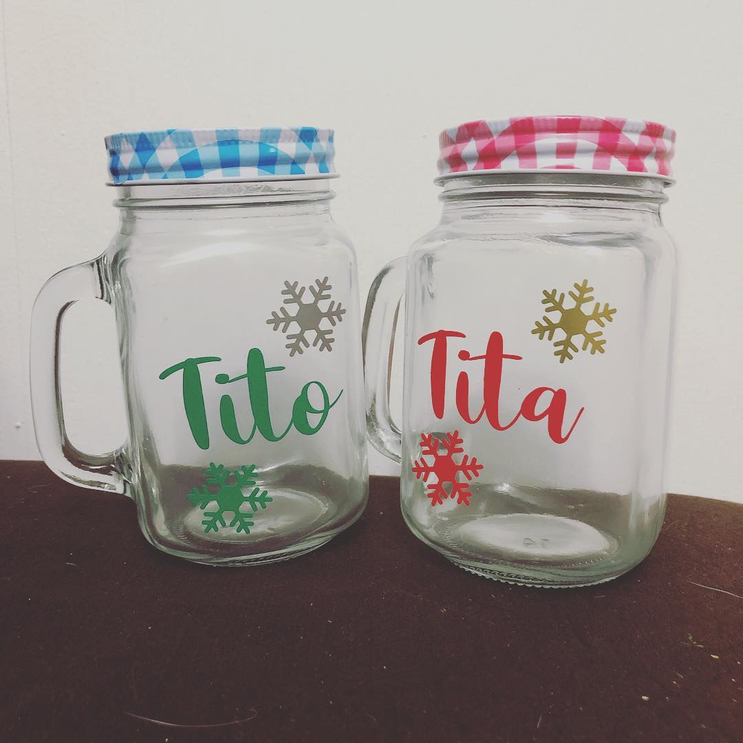 Mason jars personalizadas