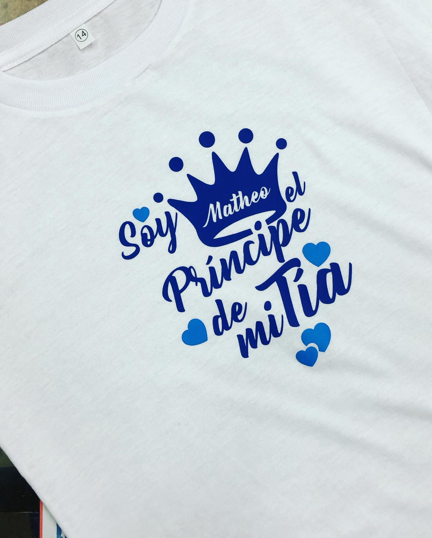 Camisas personalizadas  para la familia