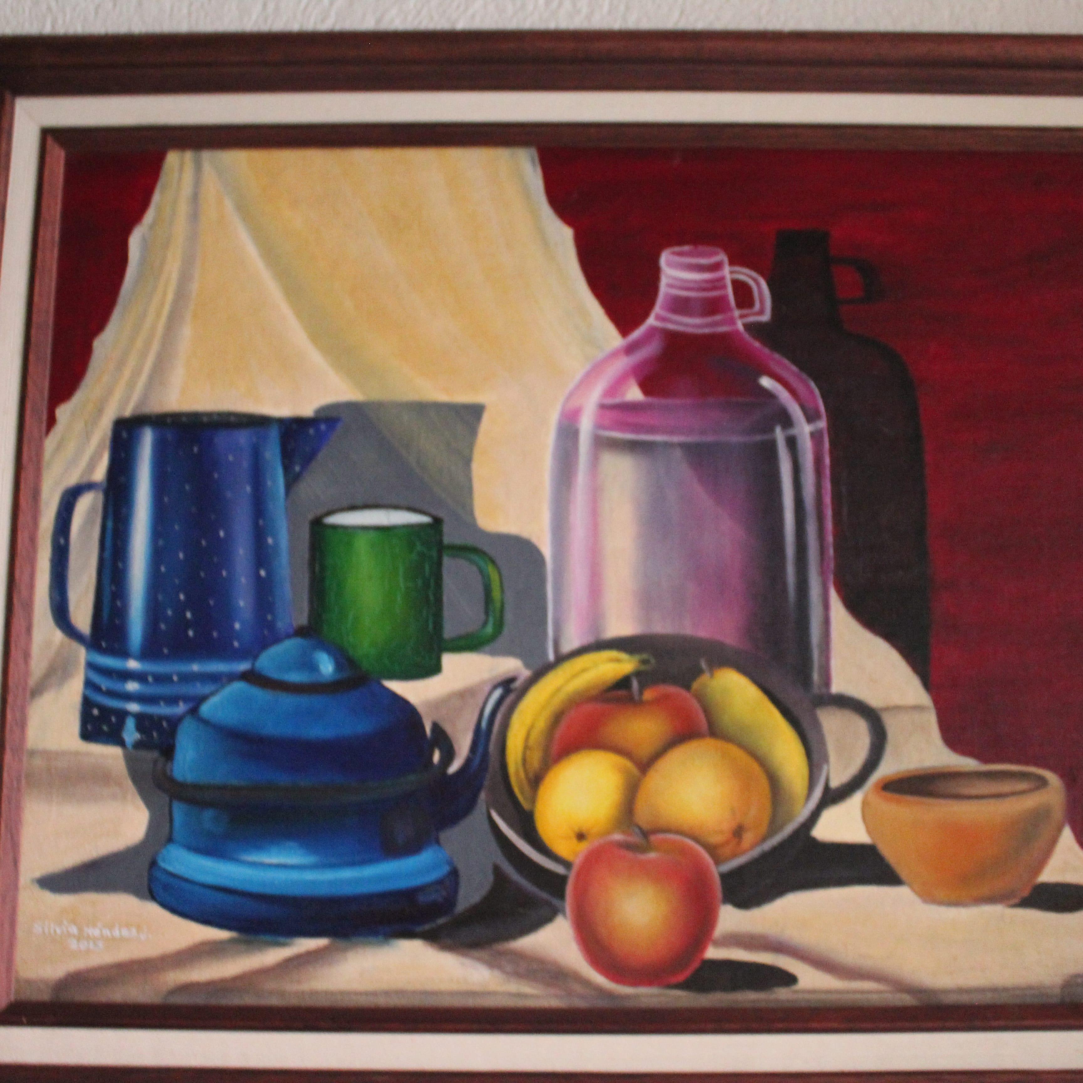 Pintura ? oleo frutas