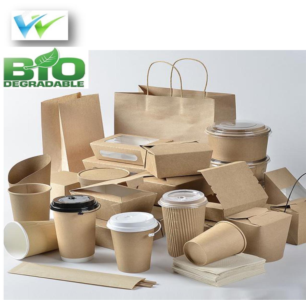 Empaques 100% Biodegradables