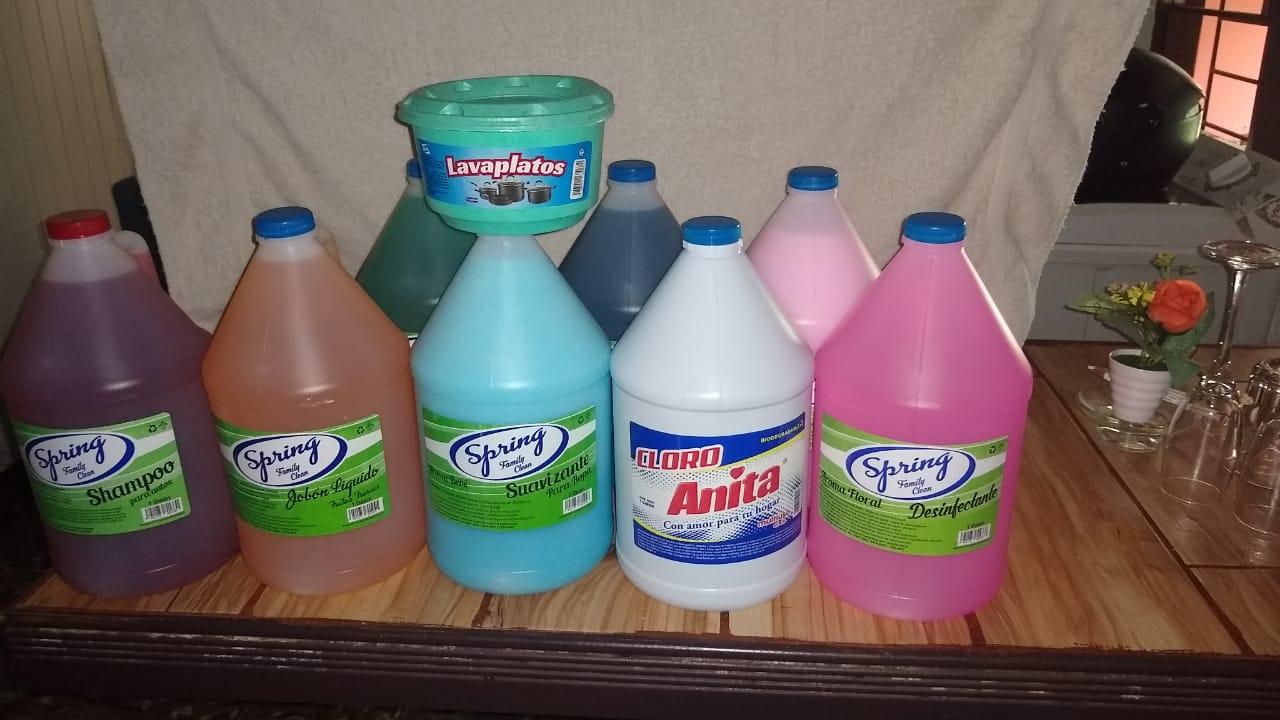 Desinfectantes y cloros