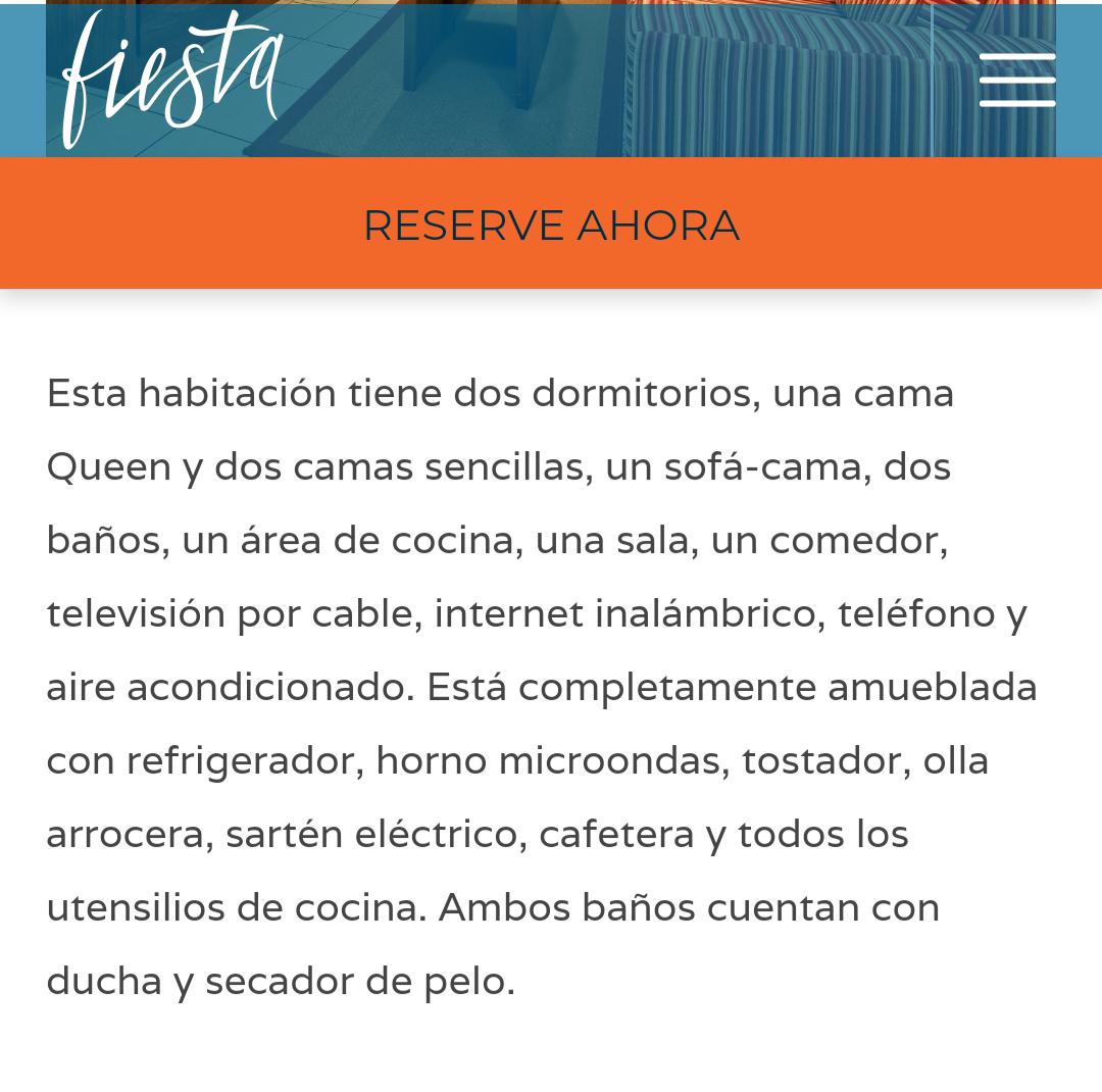 Hotel Fiesta Penthouse familiar