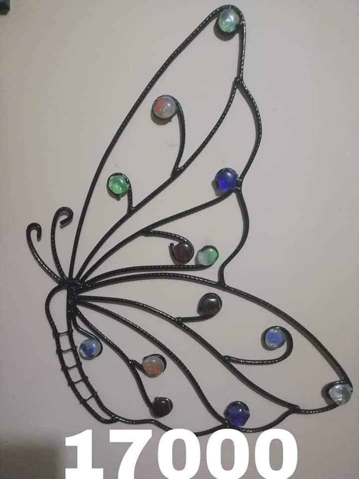 Mariposas con detalle de pedrería
