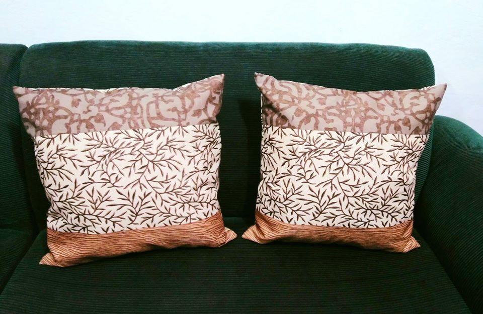 Almohadones para decorar y darle un cambio a ese espacio de tu hogar