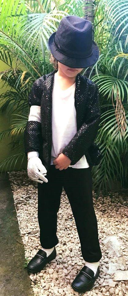 Traje fantasía de Michael Jackson confección de saco a medida