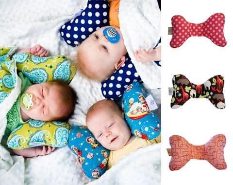 Almohadas especiales para bebé