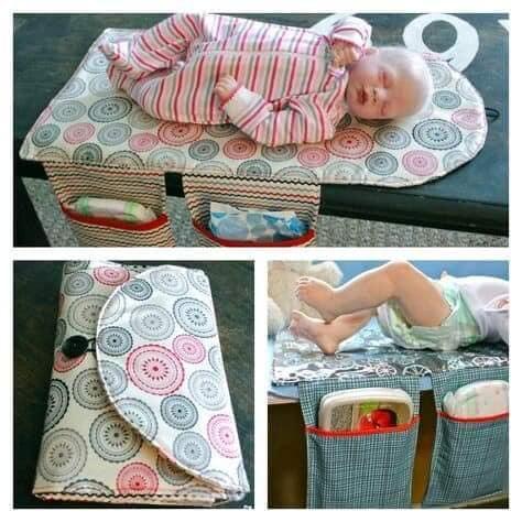 Protector portatil para bebe