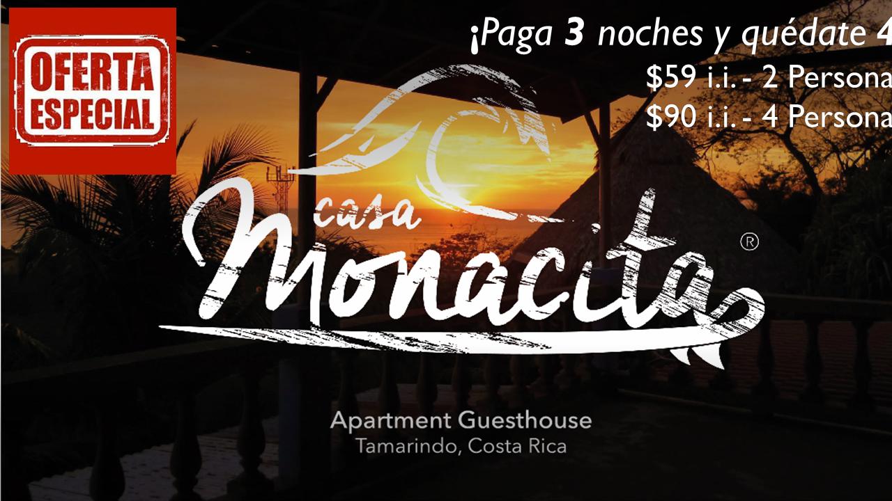 Casa Monacita Apartamentos Playa Tamarindo