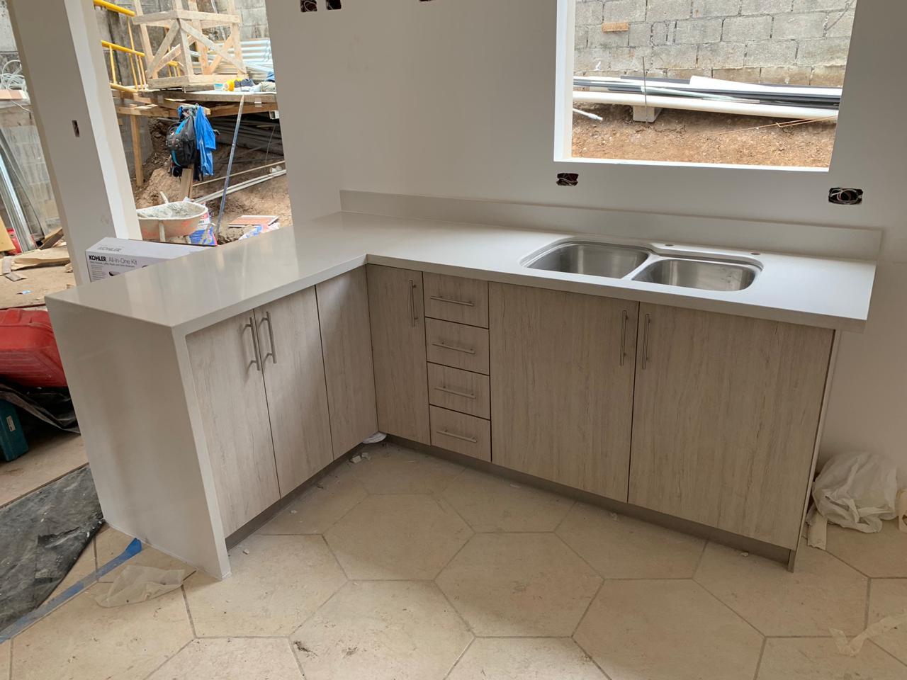 Mueble blanco para su cocina