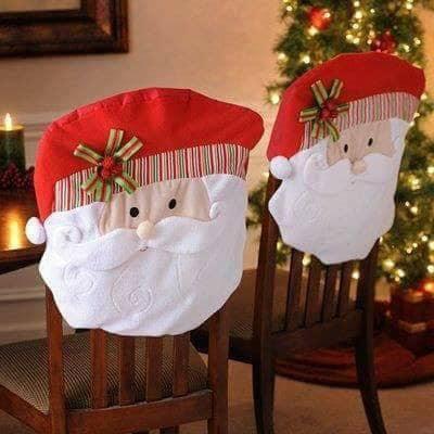 Forros de navidad para sillas