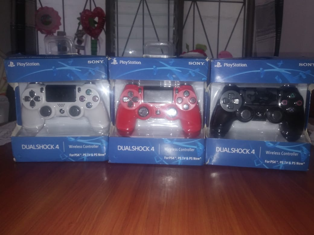 Controles play station 4 y 3