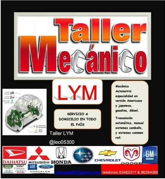 Taller LyM todo en mecánica de vehículos