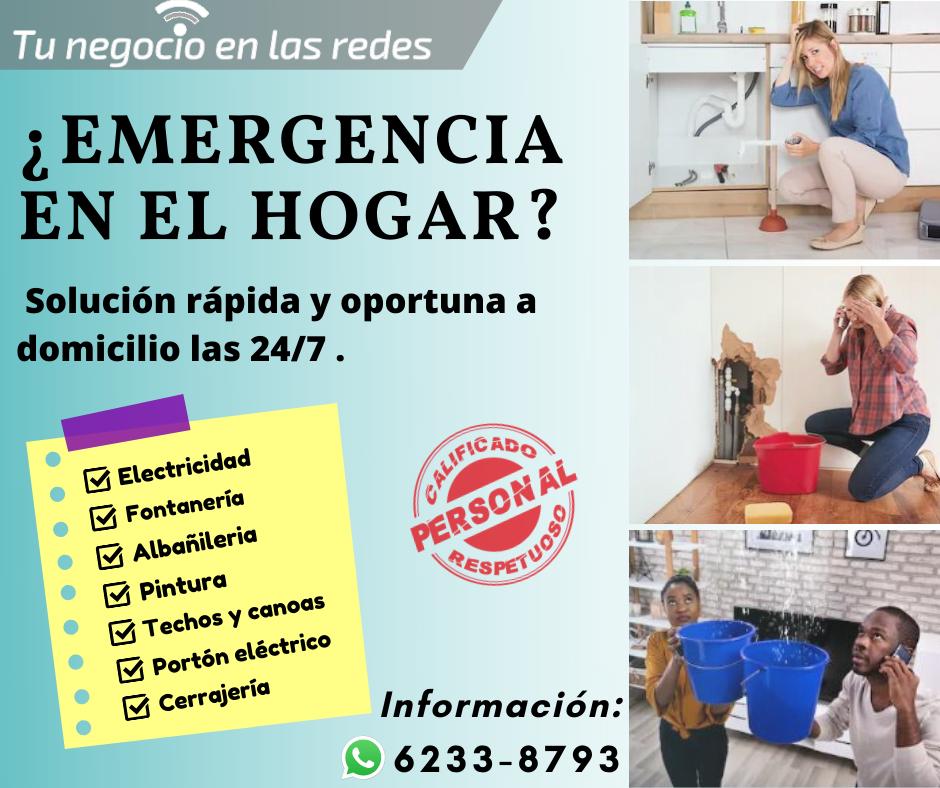 Necesita Fontanero, Electricista, Albañil, Remodelacion, Techos y Canoas