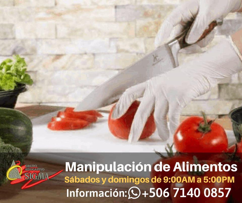 Como manipular tus alimentos. Ven y Aprende con nosotros.